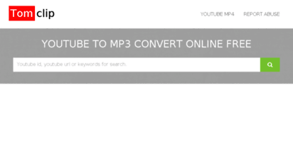 xoomclips.com - xoomtube.com: youtube to mp3 fast convert online for free.