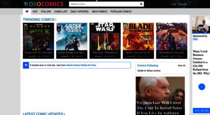 xoxocomics.com - read comics online - read dc, marvel comics online for free