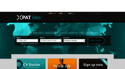 xpatjobs.com - the world´s job site - search jobs in 140 countries