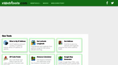 xwebtools.com - xwebtools - free online web tools for webs, web developers, web development, and daily uses.
