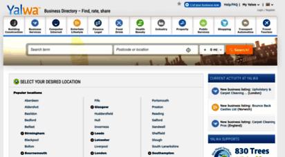 yalwa.co.uk - business directory - yalwa™ united kingdom - find, rate, share