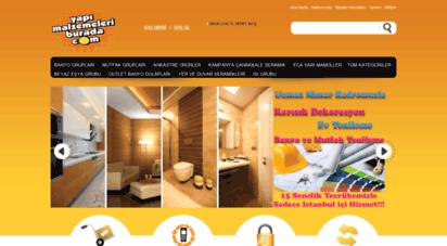 yapimalzemeleriburada.com - yapımalzemeleriburada: banyo tadilat ,mutfak dolapları,küvet,duş kabin,tekne,batarya