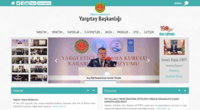 yargitay.gov.tr - yargitay baskanligi - ana sayfa
