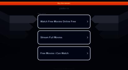 yaske.ro - die aufgerufene domain ist derzeit nicht erreichbar / the requested domain is currently not reachable