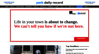 ydr.com - york breaking news, sports, weather, traffic - the york daily record