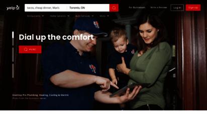 similar web sites like yelp.ca