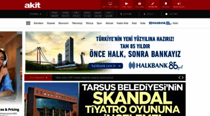 yeniakit.com.tr - yeni akit gazetesi - haberler - son dakika haberleri