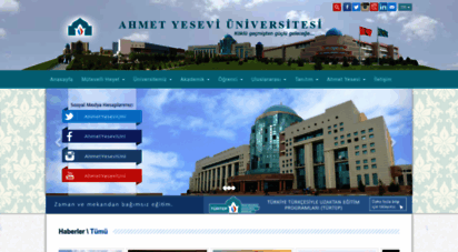 yesevi.edu.tr