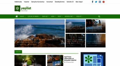 yesilist.com - yeşilist  herkes için yeşil