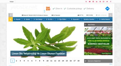 yetistir.net - yetiştirici rehberi - sebze - meyve - tahıl yetiştiriciliği