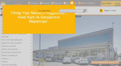 yilmazyapimarket.com.tr - yılmaz yapı market kaliteli ürün uygun fiyat