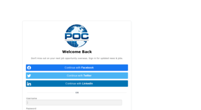 your-poc.com - professional overseas contractors: explore a world of contract job opportunities