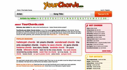 yourchords.com