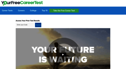 yourfreecareertest.com