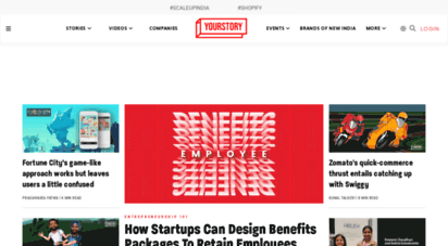 yourstory.com - yourstory  stories about startups, entrepreneurship, women, social, smbs, business, marketing, research