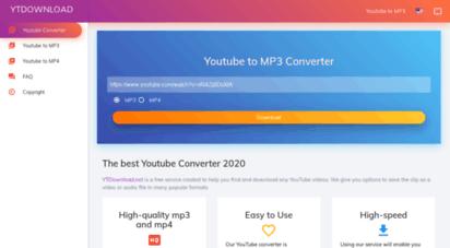 ytdownload.net - youtube to mp3 converter