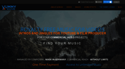 yummy-sounds.com - yummy sounds  intro music, jingles & sound logos in high quality