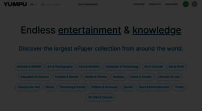 yumpu.com - yumpu - publishing digital magazines worldwide