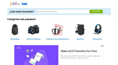 yxl.es - yxl.es - comparar productos y encontrar el precio más bajo
