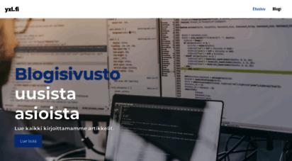 yxl.fi - yxl.fi - vertaile tuotteita ja löydä alin hinta