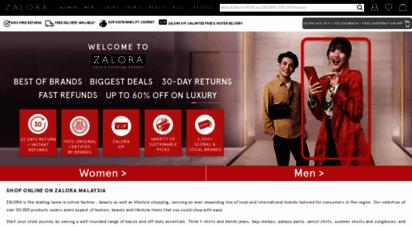 zalora.com.my - zalora malaysia: online shopping malaysia  fashion online