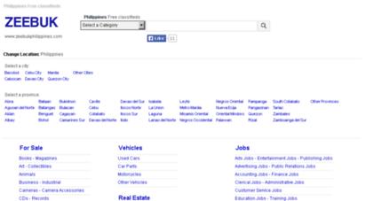 Welcome to Zeebukphilippines com - ZEEBUK - Free classifieds in