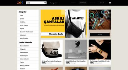 zet.com - zet  tasarımcıların pazaryeri ve tasarım ürünler