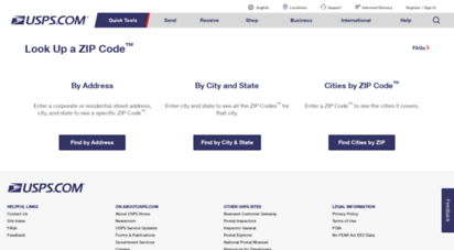 Find city and state by zip code