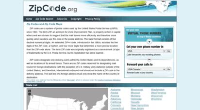 zipcode.org - zipcode.org - zip codes for usa