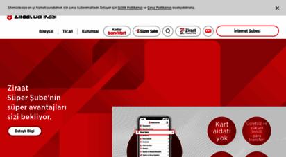 ziraat.com.tr - ziraat bankası