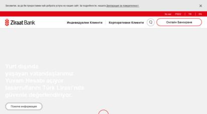 similar web sites like ziraatbank.bg