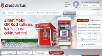 ziraatbankasi.com.tr - ziraat bankası