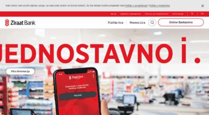 ziraatbosnia.com - ziraatbank
