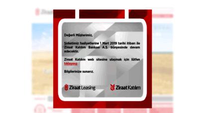 ziraatleasing.com.tr - ziraat leasing
