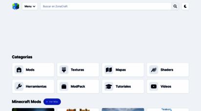 zonacraft.net - zonacraft  mods, texturas, skins, mapas para minecraft español
