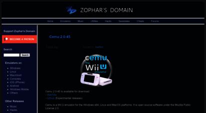 zophar.net - zophar´s domain