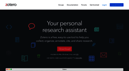 zotero.org - zotero  your personal research ssistant
