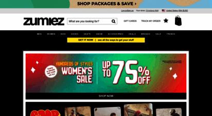 zumiez.com - zumiez - clothing stores for skate shoes, skateboards, snowboards, & streetwear  zumiez