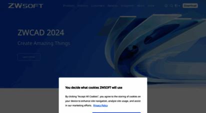 zwsoft.com - reliable cad software for dwg files and 3d cad/cam design software- zwsoft